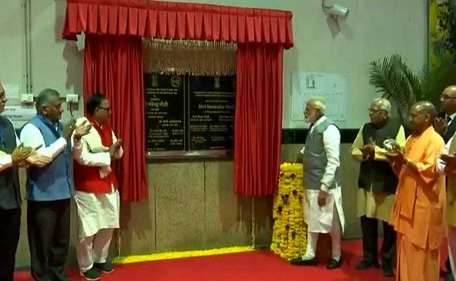 PM Modi Inaugurates Projects Worth Rs 32,500 Crore In Ghaziabad