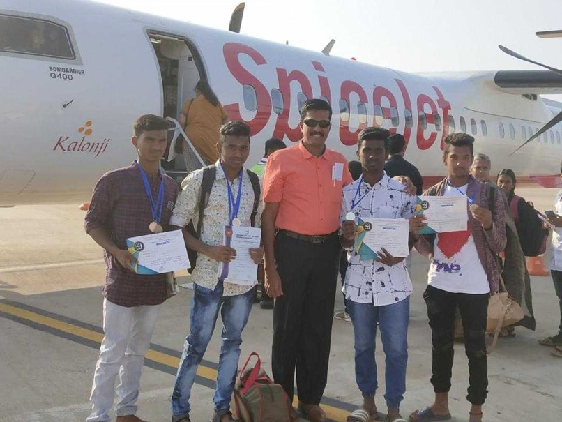 Tamil Nadu Sports Teacher Gifts Medal-Winning Students Their First Plane Ride