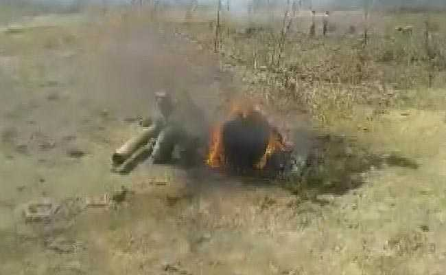 Air Force's MiG-27 Fighter Jet Crashes In Rajasthan's Sirohi
