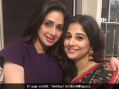 "Vidya Balan On Playing Sridevi Onscreen: ""It'd Require Guts But I Would Do It"""