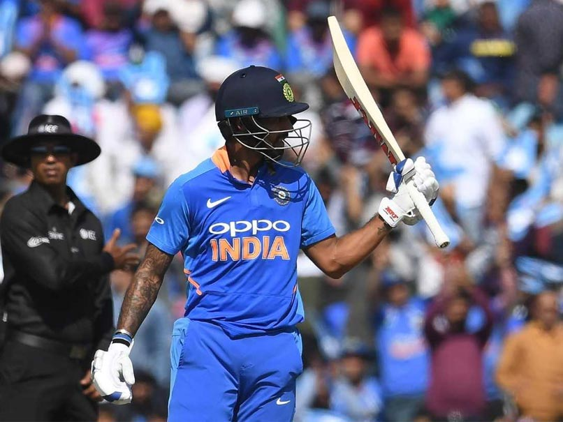 4th ODI: Shikhar Dhawan Back In Form With 16th ODI Century