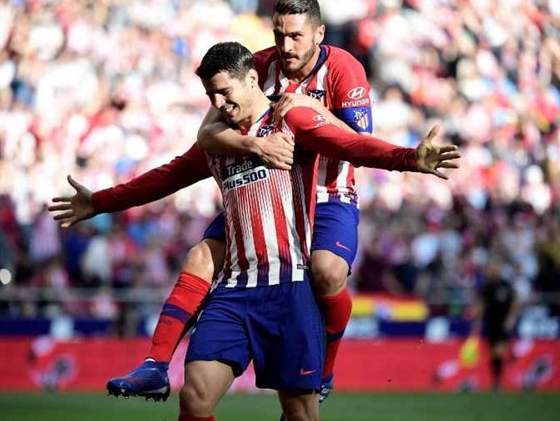 La Liga: Alvaro Morata Double Keeps Atletico Madrid