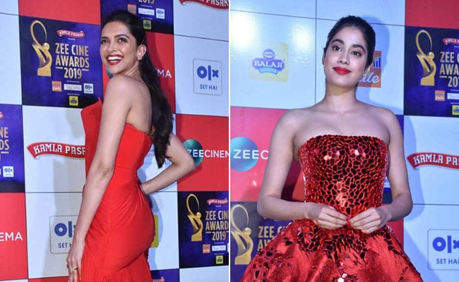 Deepika Padukone And Janhvi Kapoor Sizzle In Red Lipstick. 8 Rouge Options Under Rs 500