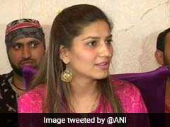 Anger Over BJP Leader's Remarks On Sonia Gandhi, Artiste Sapna Chaudhary
