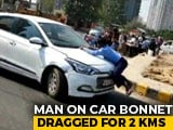 Video : Man Clung To Speeding Car For 2 km In Road Rage Case Near Delhi