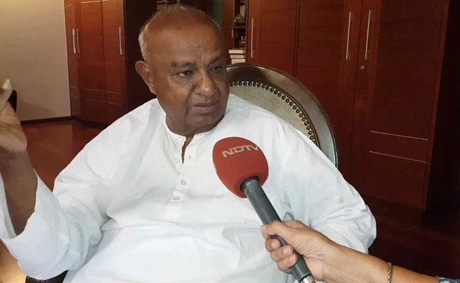 Will Contest On Our Own In Local Body Polls, No Alliance: HD Deve Gowda