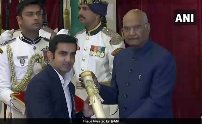 Gautam Gambhir, Odisha Tea Seller Receive Padma Awards. See Pics
