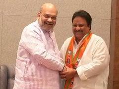 Denied Ticket, TRS Lawmaker Jithender Reddy Joins BJP