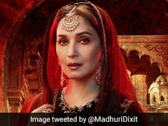 <i>Kalank</i>: Madhuri Dixit Shares New Poster Of 'Mysterious And Enchanting' Bahaar Begum