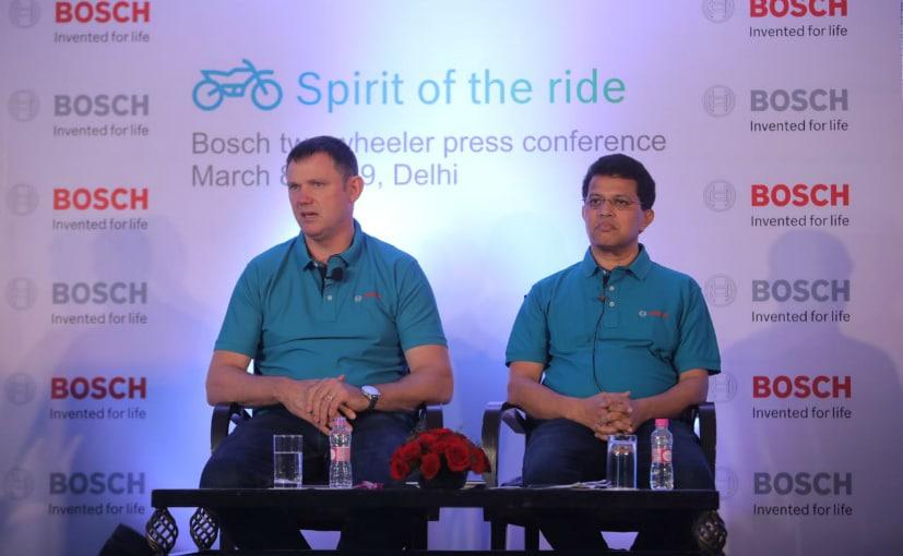 Geoff Liersch and Prabhu Panduranga, Bosch Two-Wheeler Business and Powersports