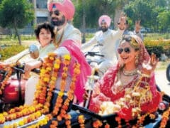 How Gul Panag Managed Bikers-Only <I>Doli</i> Without Ruining Wedding <I>Lehenga</i> 8 Years Ago