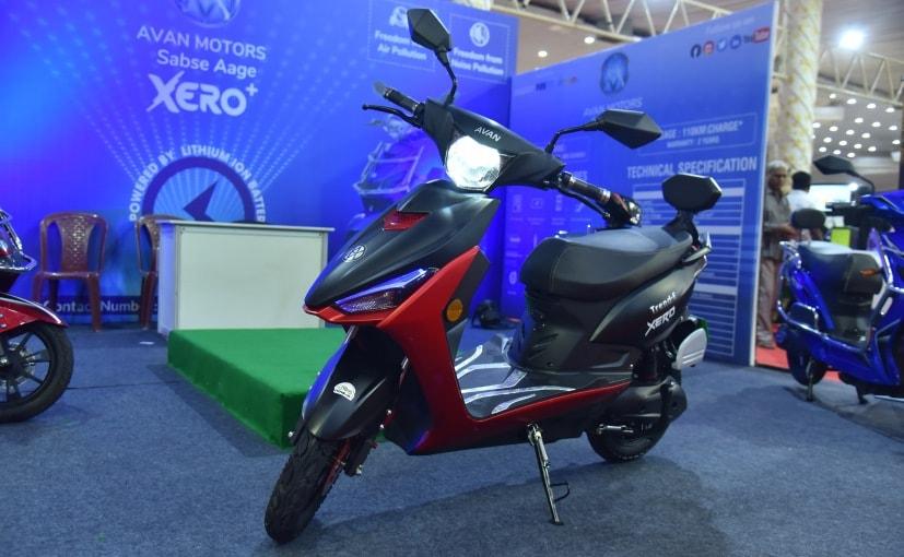 Avan Motors India Unveils New Trend E Electric Scooter