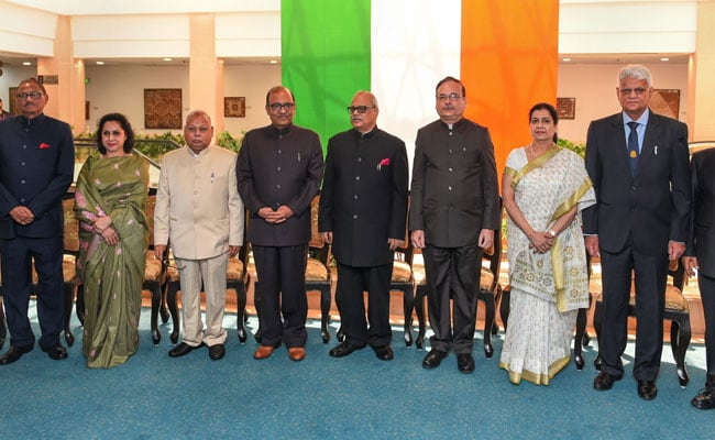 All 8 Newly-Appointed Lokpal Members Take Oath Of Office
