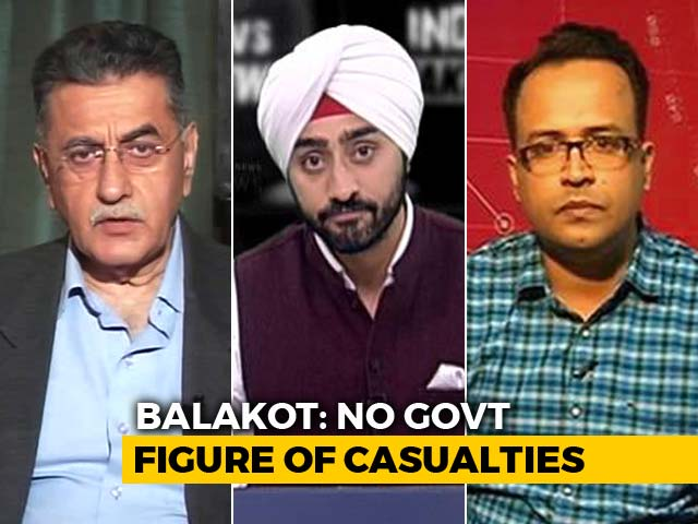 Video : Fact Check: How Many Terrorists Killed In Air Strike?