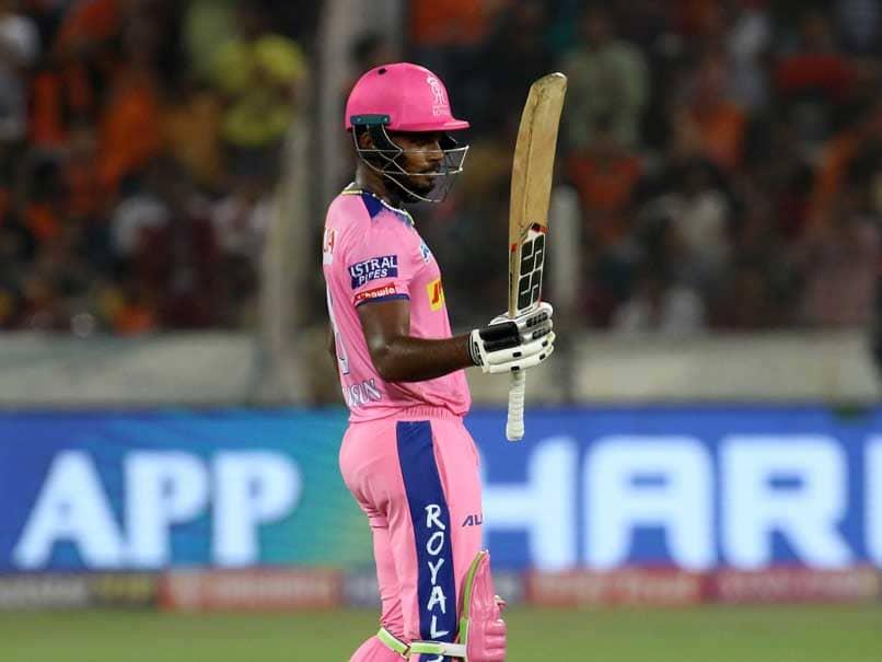 Sanju Samson Smashes The First Century Of IPL 2019