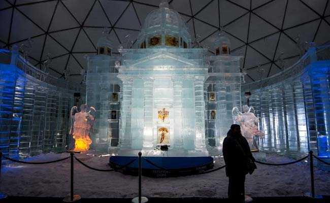 Slovakia's Ice Church In Tatra Mountains Draws Visitors Closer To Heaven