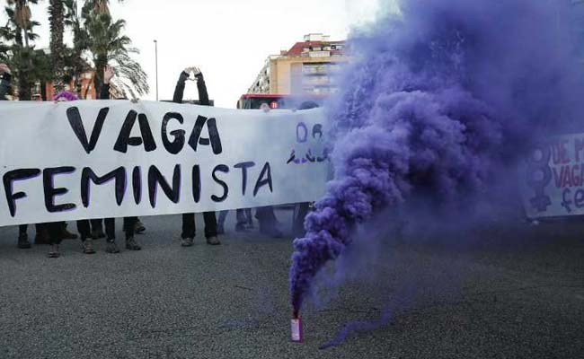 Strike, Protests Mark International Women's Day In Spain