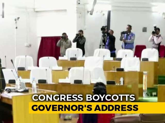 Video : Empty Chairs As Meghalaya Governor Faces Boycott Over Anti-Kashmir Tweet