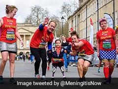 Video: Girl, 5, Who Lost Her Limbs To Meningitis Completes Half-Marathon