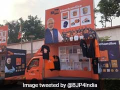 <i>NaMo Raths</i> Carry PM Modi Merchandise As He Campaigns For 2019 Polls