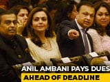 "Video : ""Deeply Touched"": Anil Ambani Thanks Brother Mukesh For Last-Minute Save"