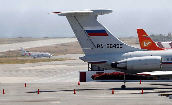 Russian Federation sends military planes to Venezuela