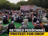 Video : Days After Tragedy, Retired CRPF Soldiers March In Capital For Pensions