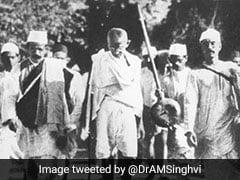 जब दांडी मार्च के दौरान महात्मा गांधी 24 दिनों तक रोज 16 से 19 किलोमीटर चलते थे पैदल
