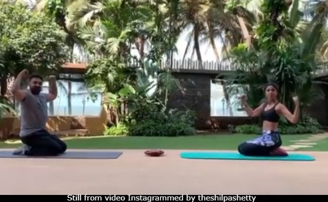 Shilpa Shetty And Raj Kundra's Couple Work-Out Is All Sorts Of Goals