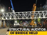 Video : Auditor Who Reviewed Mumbai Foot Overbridge Detained