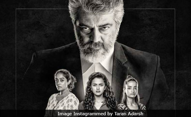 Presenting Ajith Kumar In The First Look Of Pink Tamil Remake, Now Called Nerkonda Paarvai
