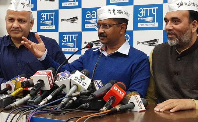 कांग्रेस के साथ गठबंधन पर बोले अरविंद केजरीवाल- हम उनके बिना दिल्ली की सभी सातों सीटें जीत रहे हैं