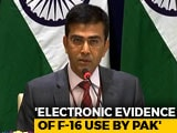 "Video : ""Naya Pak"" Should Show ""Naya Action"" Against Terror Groups, Says India"