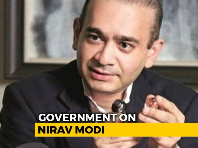 "Video : ""Waiting For UK To Respond"", Says Centre After Nirav Modi Seen In London"