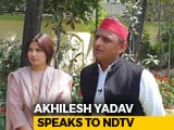 "Video : ""Time For Tie-Up Over, But Congress Should Help"": Akhilesh Yadav To NDTV"