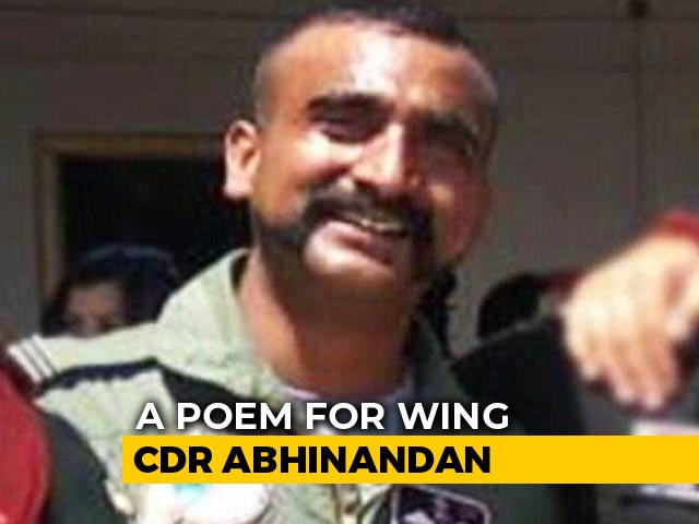 """Video : """"My Brother With A Bloodied Nose"""": A Poem For Wing Commander Abhinandan Varthaman"""