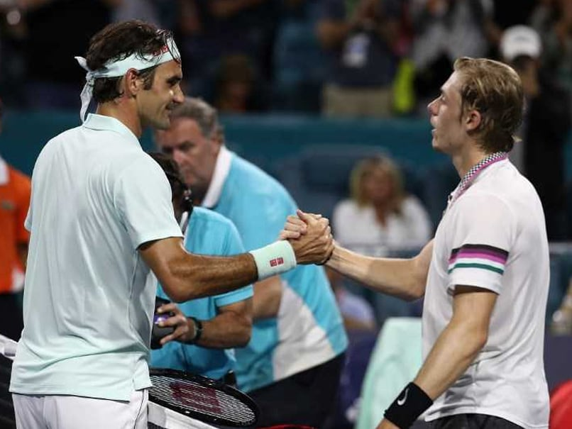 Roger Federer Schools Denis Shapovalov, Books Miami Open Title Clash With John Isner