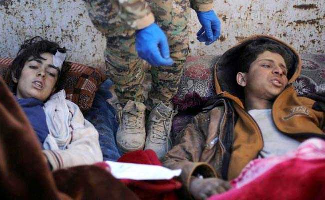 Wounded And Alone, Children Emerge From Last ISIS Territory In Syria
