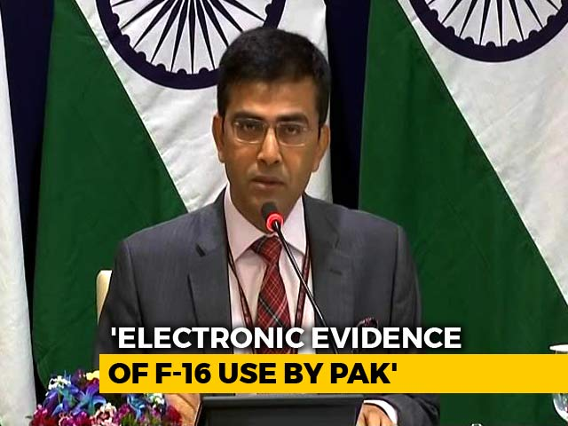 "Video : ""Naya Pak"" Should Show ""Naya Action"" Against Terror Groups, Says India"