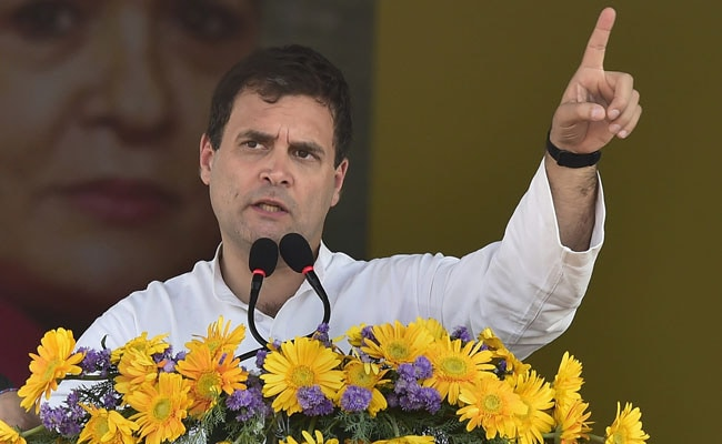 Congress Alone Can Protect People Of Northeast, Claims Rahul Gandhi