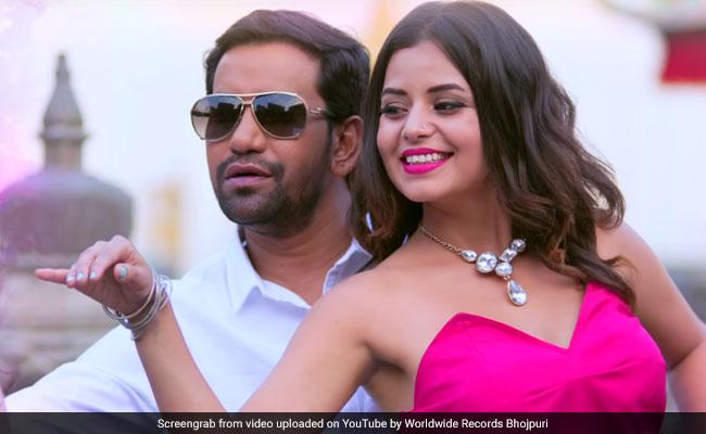 निरहुआ के 'प्रेम पियाला...' सॉन्ग ने मचाया धमाल, शाहरुख जैसे यूं हुए रोमांटिक- देखें Video