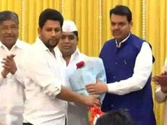 Setback For Congress, Son Of Maharashtra Leader Of Opposition Joins BJP