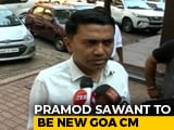 Video : Pramod Sawant To Be Goa Chief Minister, Swearing In Tonight: Sources