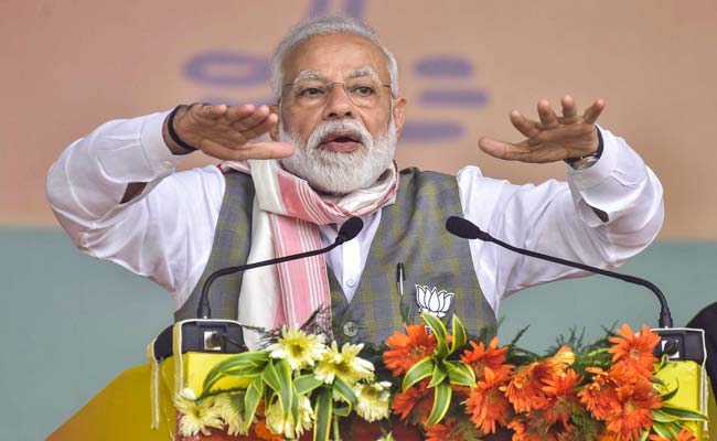 NDA Government Committed To Assam Accord, Says PM Modi