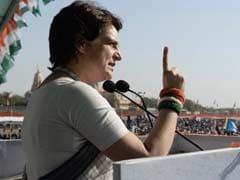 प्रियंका गांधी ने कांग्रेस ज्वाइन करने के बाद पहली रैली में मोदी सरकार पर बोला हमला, कहा- 'नफरत फैलाई जा रही है'