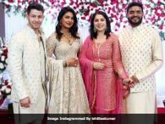 ICYMI: More Pics Of Priyanka Chopra And Nick Jonas From Her Brother's <i>Roka</i>