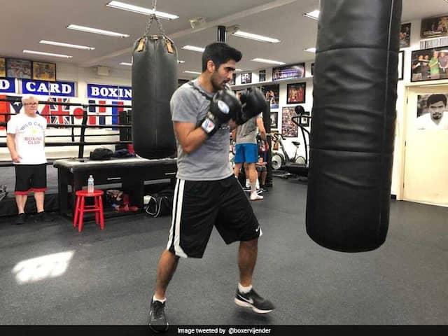 Vijender Singh Injured During Training, US Professional Debut Postponed