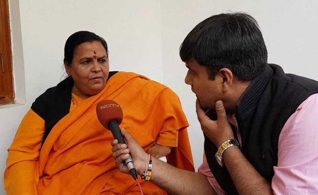 जैसे वेटिकन में मस्जिद, मक्का में चर्च नहीं बना सकता, वैसे ही अयोध्या में भी मंदिर के सिवा कुछ और नहीं: उमा भारती
