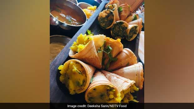 Anar Dosa In A Cone At This Delhi Restaurant Is Sure To Delight All Dosa Lovers