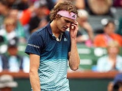 Ailing Alexander Zverev Toppled, Novak Djokovic Rained Out At Indian Wells